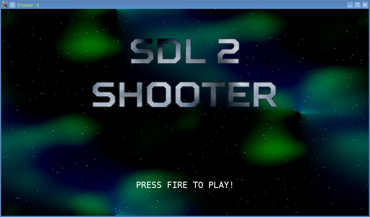 SDL2 - Creating a 2D Shoot 'Em Up - parallelrealities co uk